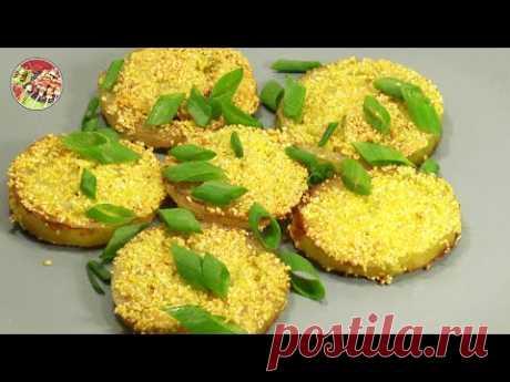 Жареные в панировке зелёные помидоры как гарнир или горячая закуска. Быстро и просто!