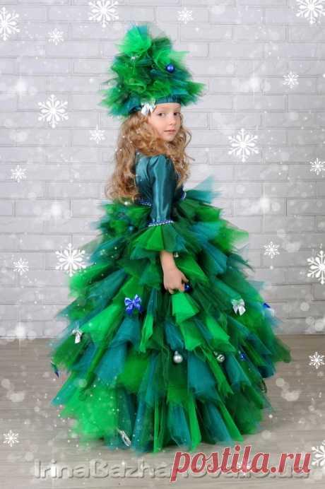Новогодние костюмы для девочек (подборка идей)