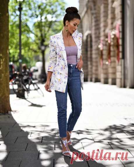 Как и с чем носить узкие джинсы: 27 изумительных идей