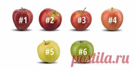 Тест по яблоку — Всегда в форме!