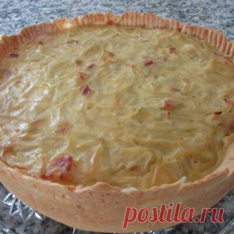 Луковые пироги, 6 рецептов с фото - ФотоРецепт
