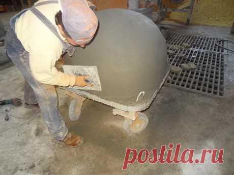 Помпейская печь из кирпича своими руками