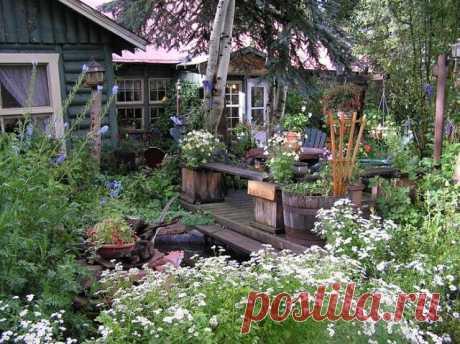 Уютные дворики !!!