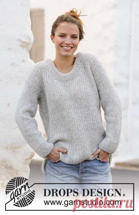 Джемпер Rainy Day Sweater от DROPS Design - блог экспертов интернет-магазина пряжи 5motkov.ru