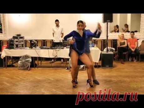 ВОТ ЭТО ТАНЕЦ!!! *Ataca & La Alemana*  танцуют Цыганочку!!! Микс *