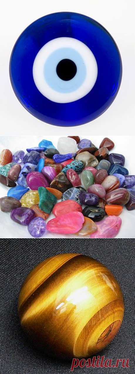 Как выбрать камень от сглаза и порчи?