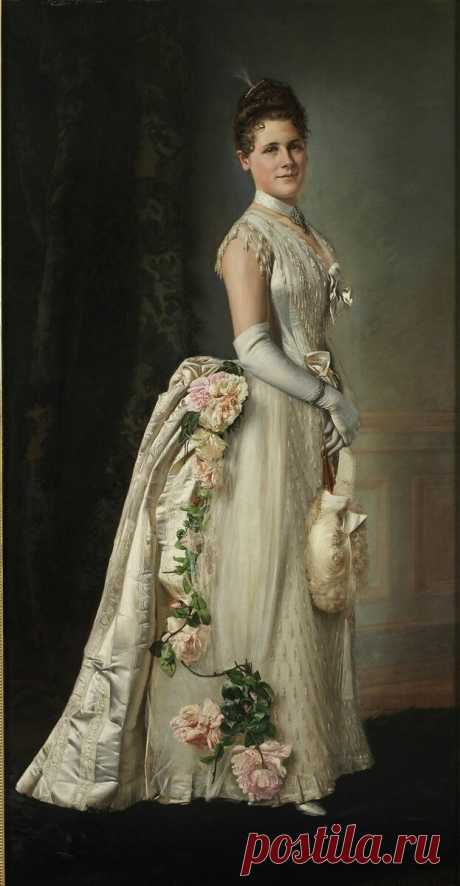 Голые плечи, огромные турнюры и изысканная отделка. Вечерние платья середины 1880-х   Модная лавка 19 века   Яндекс Дзен