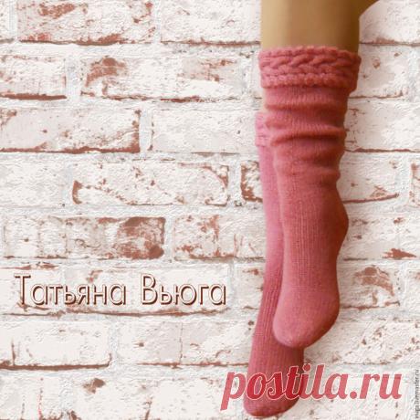 Эти вязаные носочки - настоящие произведения искусства | Вязание спицами и крючком | Яндекс Дзен