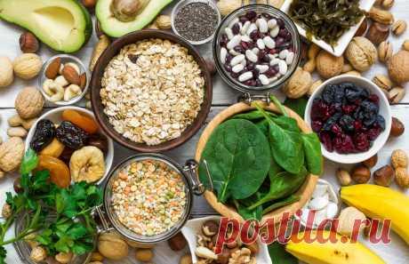 В каких продуктах содержится магний [список] :: Здоровье :: РБК Стиль