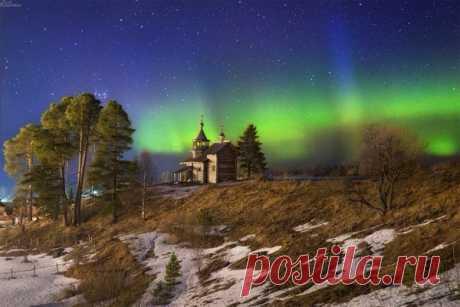 Мюсли Лаврова в Твиттере: «Северные сияния над Русским Севером, фото Кирилла Казачкова. Всё таки Россия - самая красивая страна в мире! https://t.co/N3WVFp3HJD»