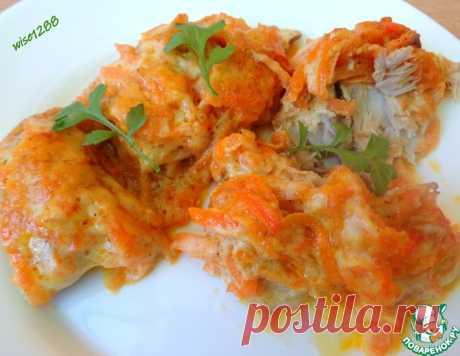 Скумбрия с морковью в заливке – кулинарный рецепт