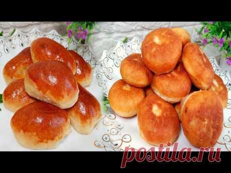 Пирожки жареные (простой рецепт теста)