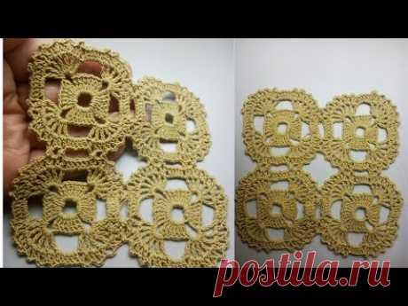 Just Beautifully crochet motif for tablecloth Просто  Красиво вязать крючком мотив для скатерти