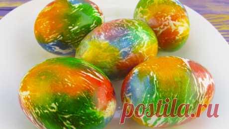Яйца на Пасху – яркие и оригинальные! Простой способ покрасить пасхальные яйца! — Кулинарная книга - рецепты с фото