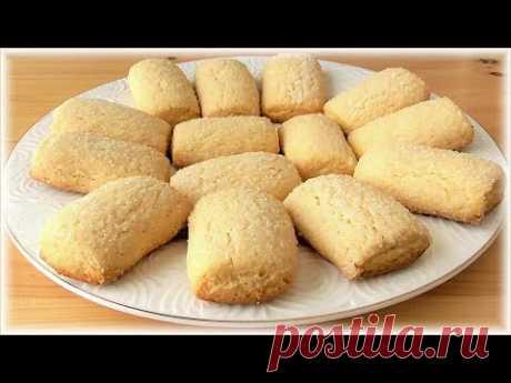 """Рецепт песочного печенья на растительном масле - """"Простушка"""".  Угощает Италия!"""