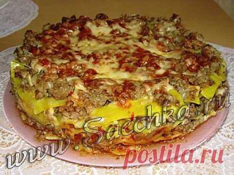 Лазанья в мультиварке | рецепты на Saechka.Ru