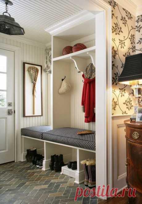 5 полезных идей для квартиры с маленькой прихожей