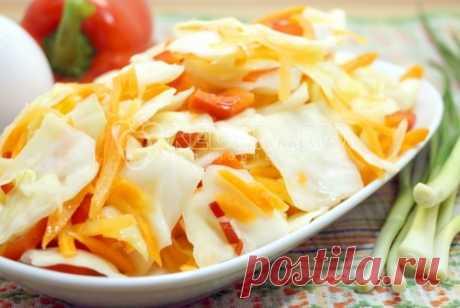 Маринованная капуста быстрого приготовления «Провансаль» Маринованная капуста быстрого приготовления «Провансаль» это вкуснейшая овощная закуска. Быстро готовится, отменно хрустит и быстро заканчивается.