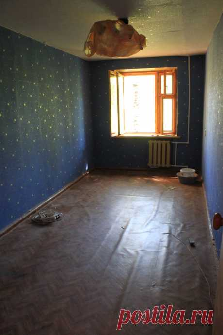 As if you estimated result of transformation of this room in a five-storey apartment block? Photos after repair …