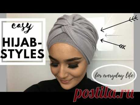 Easy Turban Styles For Everyday Life (Hijab)