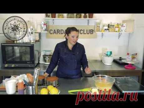 Приготовить ЛИМОННЫЙ ТОРТ за 30 минут ⚡ Самый быстрый рецепт лимонного торта #cardamonclub