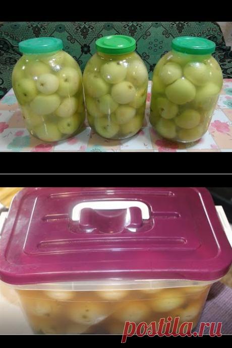 Мочёные (квашеные) яблоки. - YouTube
