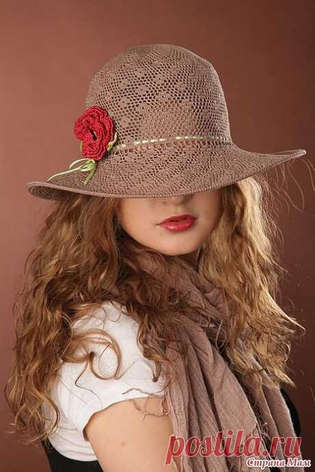 Шляпа САФАРИ крючком – мастер-класс.