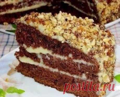 Как приготовить шоколадный торт на кефире «фантастика». - рецепт, ингредиенты и фотографии