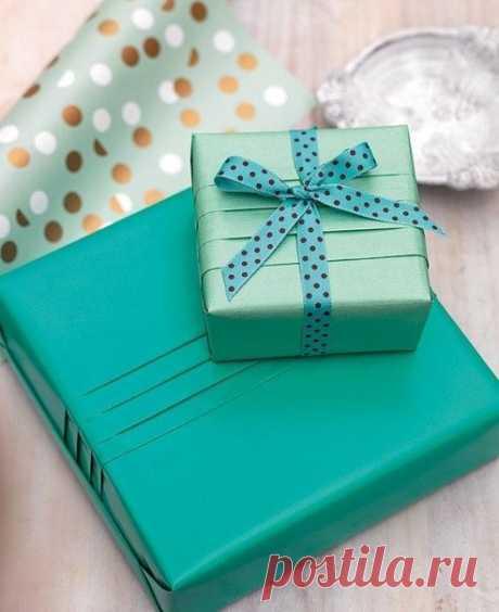 Мастер-класс по упаковке подарка / Западло