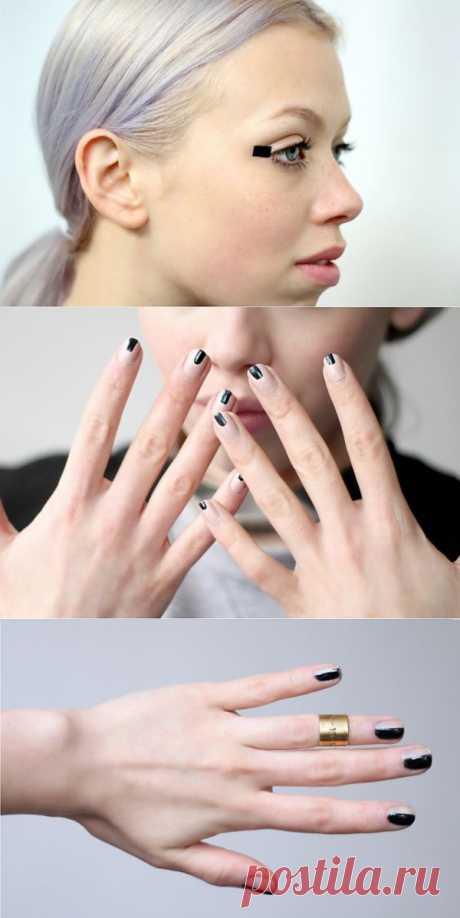 Las agujas (clase maestras) rectangulares \/ el Maquillaje\/manicura \/ el sitio A la moda sobre el rehacimiento de estilo de la ropa y el interior