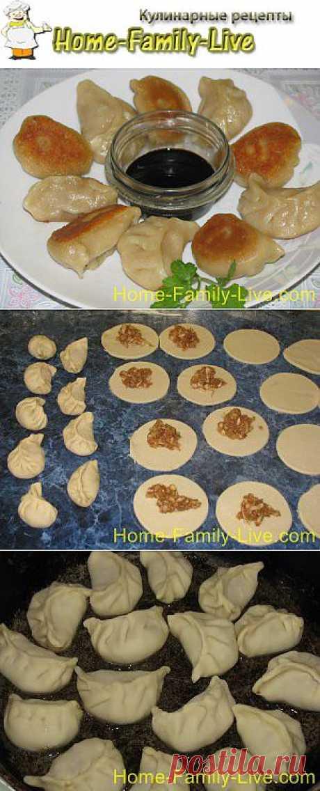 Китайские пельмени - пошаговый фоторецепт | Кулинарные рецепты