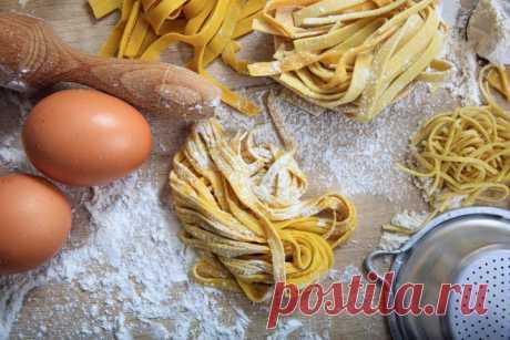 Рецепт приготовления домашней лапши от Шефмаркет