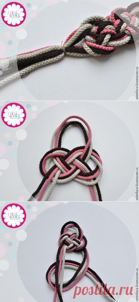 Плетённый браслет своими руками — Сделай сам, идеи для творчества - DIY Ideas