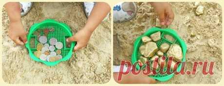 КНИЖНЫЙ ШКАП Катерины Таберко - Игры с песком