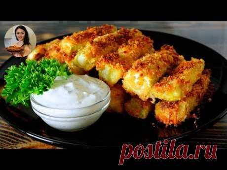 Кабачковые палочки. БЕЗ КАПЛИ МАСЛА | Zucchini sticks | Кулинарим с Таней