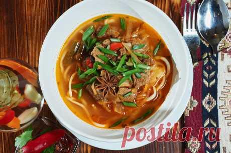 Узбекская кухня - учимся готовить плов, лагман, шурпу...