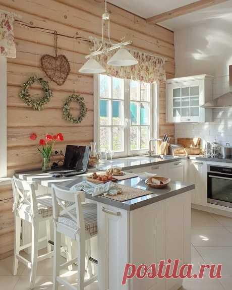 Кухня на даче: 44 фото в интерьере и идеи дизайна
