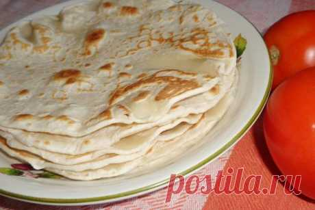 The Armenian unleavened wheat cake in house conditions | CityWomanCafe.com