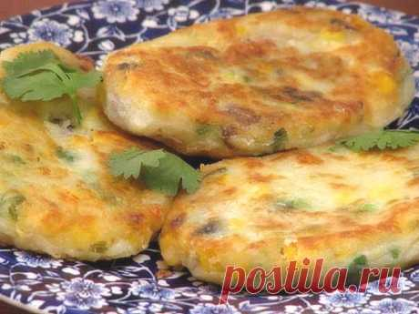 Fast potato patties   Fast recipes for every day