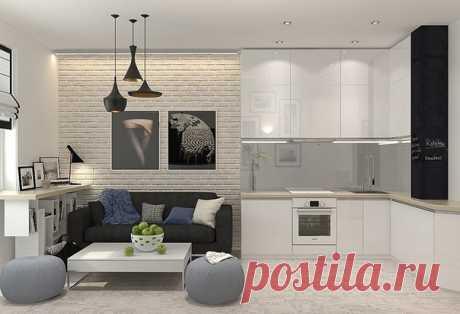 One-room apartment of 48 sq.m