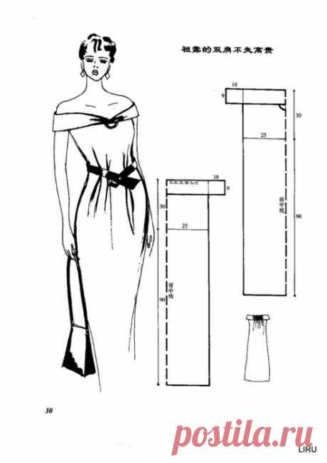 120 моделей платьев и сарафанов с выкройками