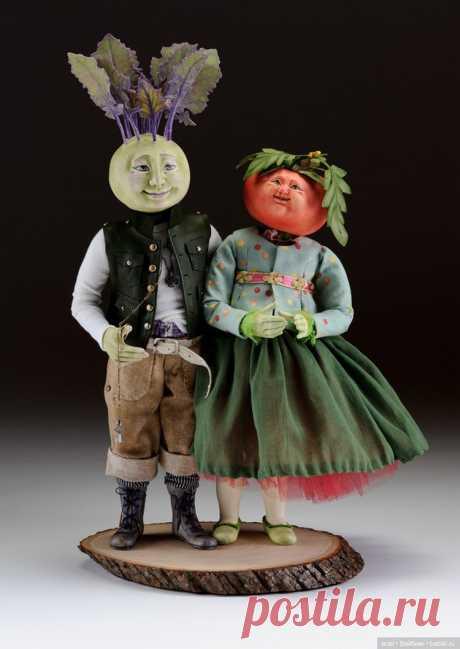 Милые куколки от Kathryn Walmsley / Оригинальные и смешные авторские куклы / Бэйбики. Куклы фото. Одежда для кукол