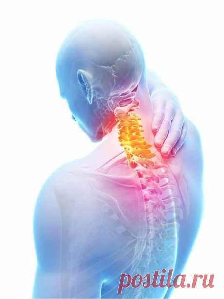 Упражнения для снятия болей в шее