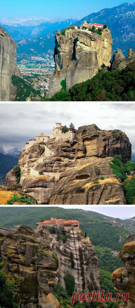 Возраст этих монастырей насчитывает порядка 11 веков. В эпоху расцвета на этих возвышенностях располагалось 24 монастыря. На данный момент их осталось только шесть. Монастыри Метеоры, Греция