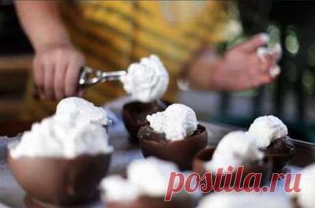 Простой шоколадный десерт