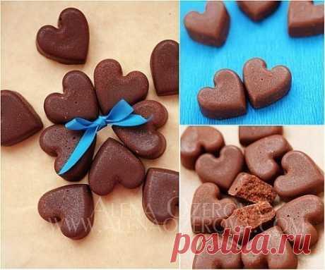 Как приготовить шоколадные конфеты - рецепт, ингредиенты и фотографии