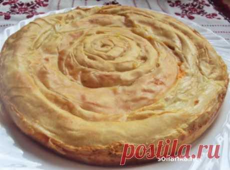 Рецепт пирог с тыквой