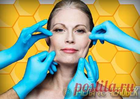 Медовое средство, которое помогает подтянуть кожу лица. | Пчела & Человек | Яндекс Дзен