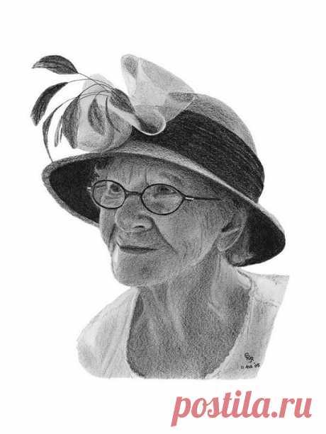 Портреты карандашом от Чарльза Вогана | Искусство