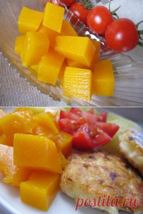 «Эстонский ананас» или тыква маринованная